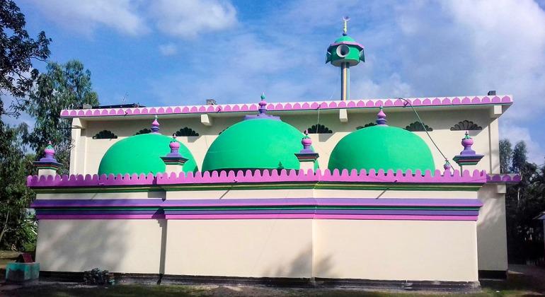 জামালপুর শাহী মসজিদ গাইবান্ধা