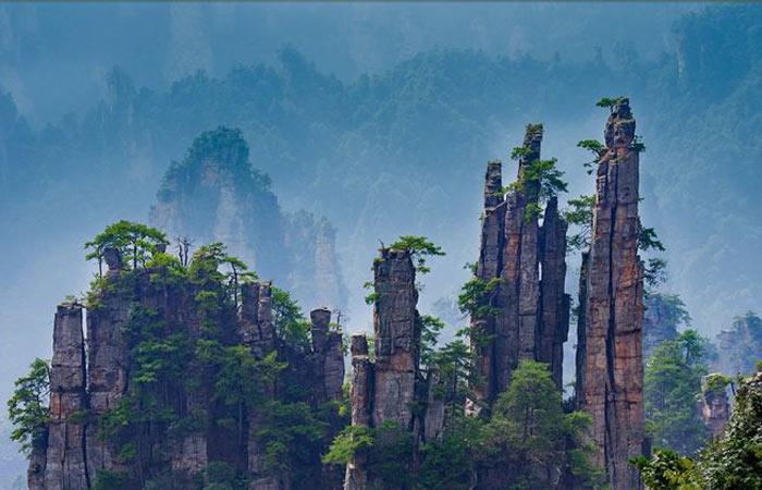 Zhangjiajie-National-Forest