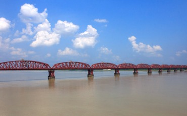 হার্ডিঞ্জ ব্রীজ, পাকশী, পাবনা