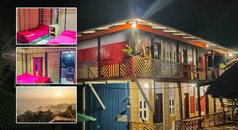 সাজেক রিসোর্ট রুংরাং - Sajek Resort RungRang