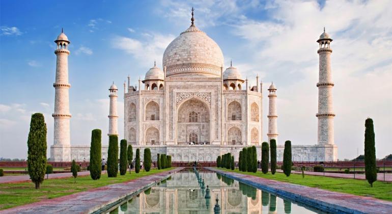 তাজমহল আগ্রা ভারত